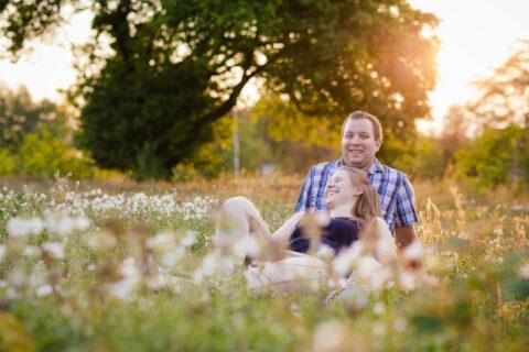 Outdoor Verlobungsshooting Paarfotografie