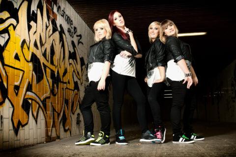 Fotoshooting Street Style Outdoor mit Tanzgruppe Dance Now Frauenpower